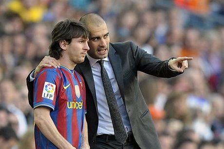 Goc nhin cua Pep Guardiola: Messi 'luoi' di chuyen - Anh 1