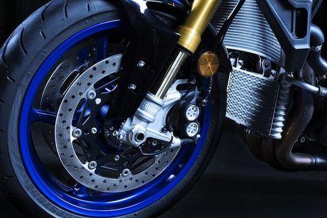Yamaha MT-10 SP - Ban 'naked bike' cua sieu moto R1M - Anh 4