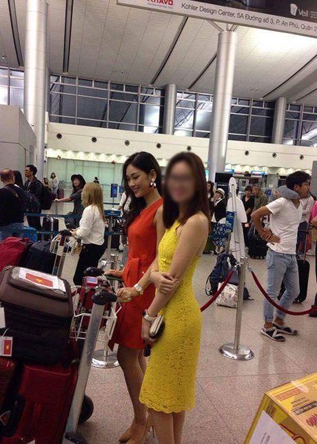 Hinh anh dau tien cua A khoi Phuong Linh tai Miss International - Anh 6