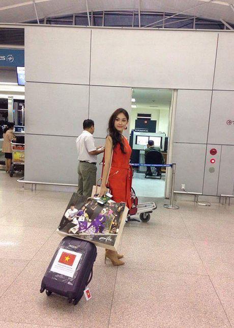 Hinh anh dau tien cua A khoi Phuong Linh tai Miss International - Anh 8