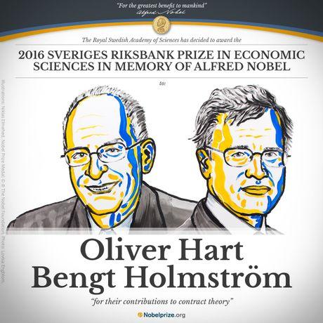 Nobel Kinh te 2016 cho nghien cuu ve li thuyet hop dong - Anh 1