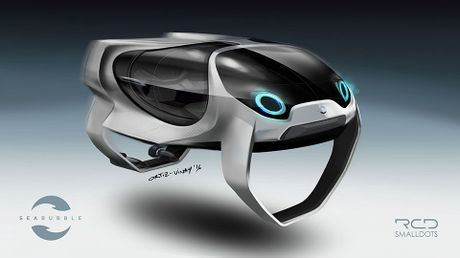 SeaBubbles: Taxi tau canh ngam, dong co dien, goi tau bang app giong nhu Uber - Anh 1