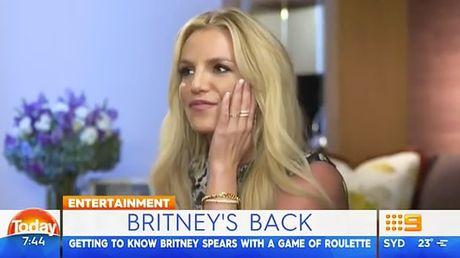 Britney Spears ho hoi khi Brad Pitt ly hon - Anh 1