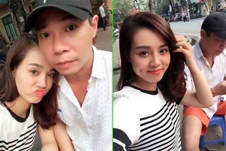 Nghe si Cong Ly khoe nguoi yeu moi - Anh 1