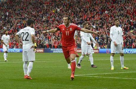 Bale tien sat ki luc ghi ban cua xu Wales - Anh 1