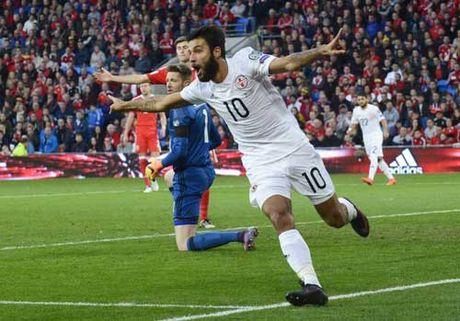 Bale tien sat ki luc ghi ban cua xu Wales - Anh 2