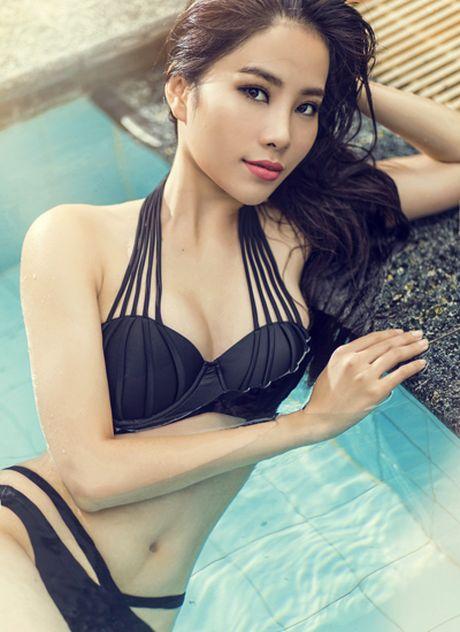 Nam Em mac bikini thi Miss Earth len bao Philippines - Anh 5