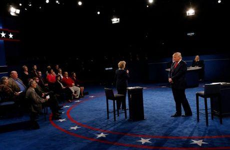 Anh an tuong trong cuoc tranh luan thu 2 cua Trump va Clinton - Anh 5