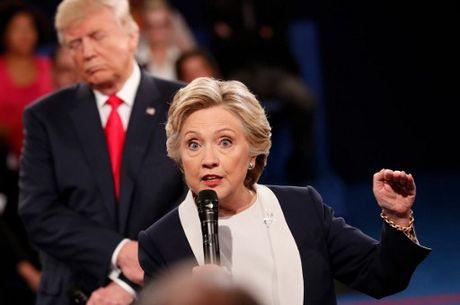 Anh an tuong trong cuoc tranh luan thu 2 cua Trump va Clinton - Anh 8