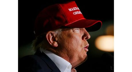 Donald Trump: Neu thua, se khong ai nhin thay toi nua! - Anh 1