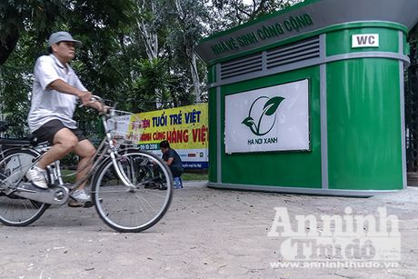 1.000 nha ve sinh cong cong nhu the nay se duoc lap dat tren toan Ha Noi - Anh 1