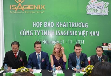Cham dut hoat dong ban hang da cap cua Cong ty Isagenix Viet Nam - Anh 1