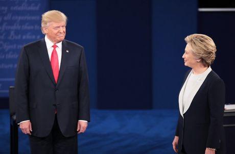 Tranh luan truc tiep Donald Trump- Hillary Clinton lan 2: Ai thang, ai thua? - Anh 1