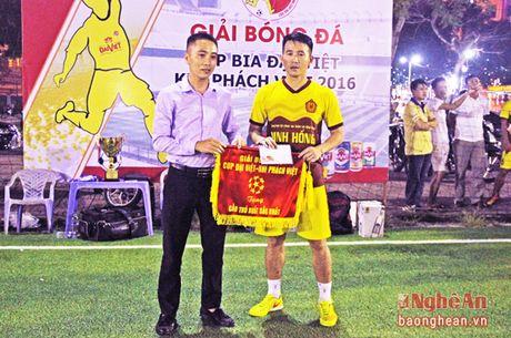 FC Thanh Co doat chuc vo dich giai bong da phong trao - Anh 2