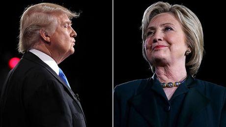 Trump - Clinton chuan bi tranh luan truc tiep lan hai - Anh 1
