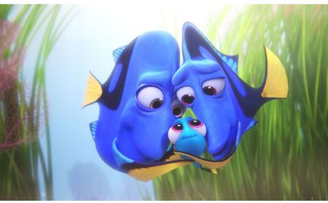 'Finding Dory' lap ky luc voi doanh thu cham moc 1 ti USD - Anh 1