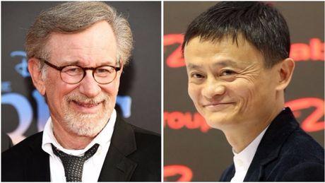 Dao dien huyen thoai Hollywood Steven Spielberg hop tac voi Jack Ma - Anh 1
