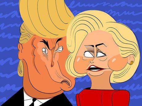Loi noi doi quan trong nhat cua Donald Trump la ve Hillary Clinton - Anh 1