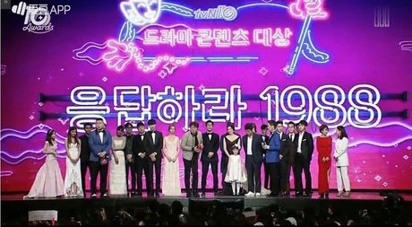 Thang dam tai tvN10 Awards, series 'Loi Hoi Dap' la niem tu hao 10 nam cua dai cap nay! - Anh 1