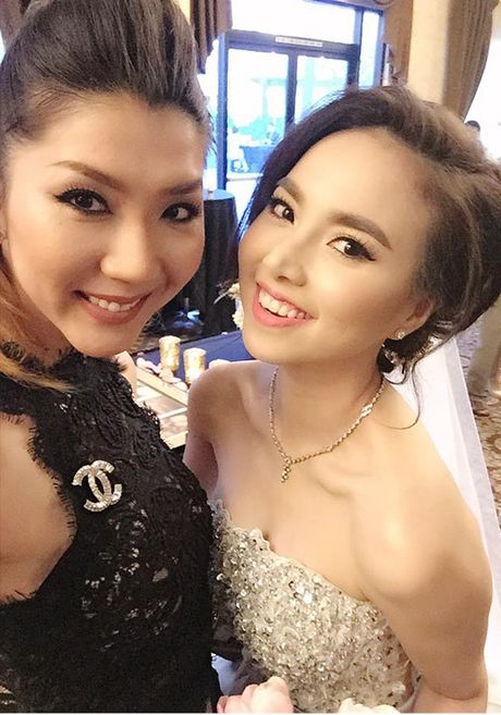 Dinh Ngoc Diep - Victor Vu tiep tuc to chuc dam cuoi o My - Anh 4