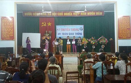 Bình Định: Sân khấu hóa tuyên truyền ATGT cho phụ nữ