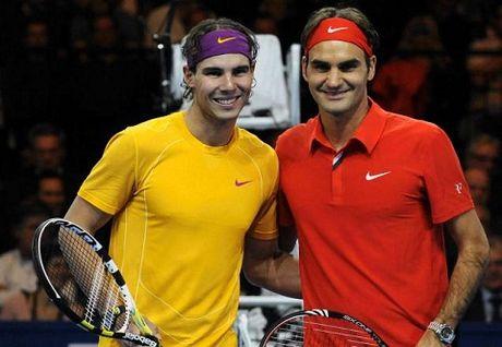 NONG: Roger Federer va Rafael Nadal lan dau tien bat khoi top 4 the gioi sau 13 nam - Anh 1