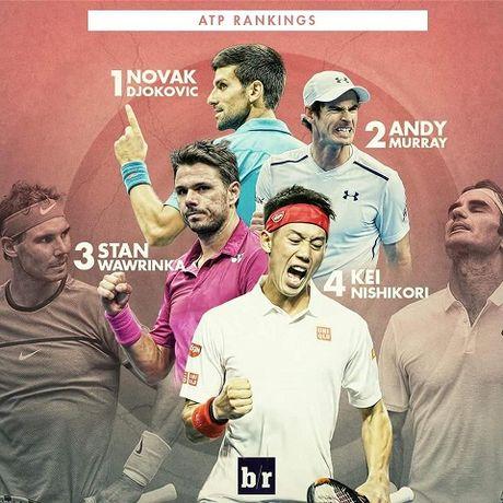 NONG: Roger Federer va Rafael Nadal lan dau tien bat khoi top 4 the gioi sau 13 nam - Anh 4