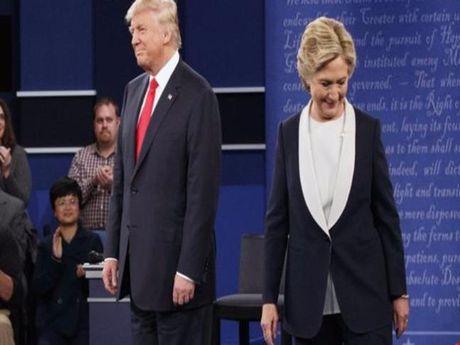 Cuoc doi dau thu hai: Trump 'be bang', Clinton tu ton - Anh 1