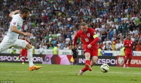 01h45 ngay 12/10, Slovenia vs Anh: Kho cuu noi Rooney - Anh 1