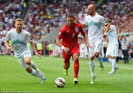 01h45 ngay 12/10, Slovenia vs Anh: Kho cuu noi Rooney - Anh 2