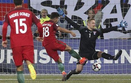 Ronaldo va tran 'tennis' thu 2 lien tiep cua Bo Dao Nha - Anh 1