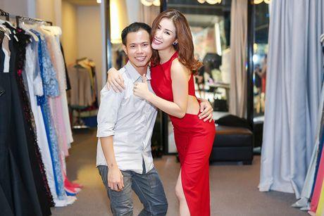 A hau Bao Nhu he lo trang phuc tham gia Miss Intercontinental - Anh 9