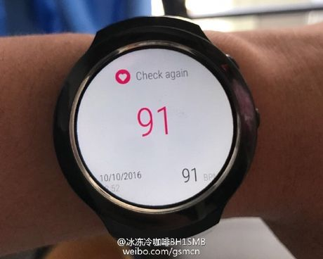 Ro ri smartwatch HTC chay Android Wear, lam chung voi Under Armour, co cam bien nhip tim - Anh 6