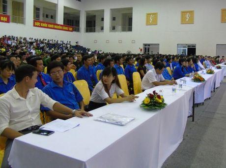 Binh Dinh: Ky niem 60 nam Ngay Truyen thong Hoi LHTN Viet Nam - Anh 1
