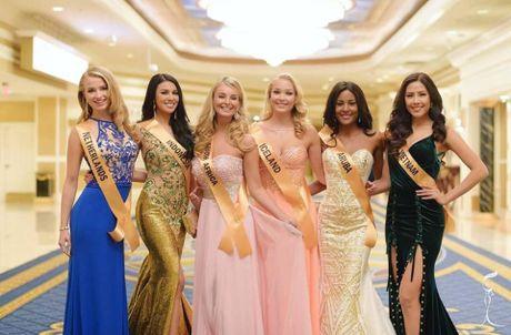 Bi dau mat, Nguyen Thi Loan van toa sang tai Miss Grand International - Anh 1