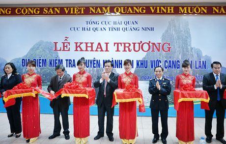 Hai quan Quang Ninh: Nang cao hieu qua hoat dong kiem tra chuyen nganh - Anh 1