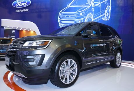 Ford Explorer gia 2,18 ty - Anh 1