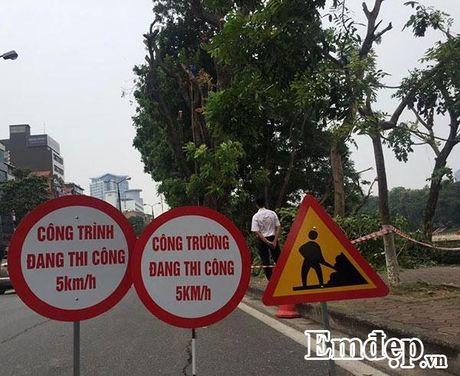 Can canh hang xa cu tren duong Kim Ma bi cat xe de di doi - Anh 12