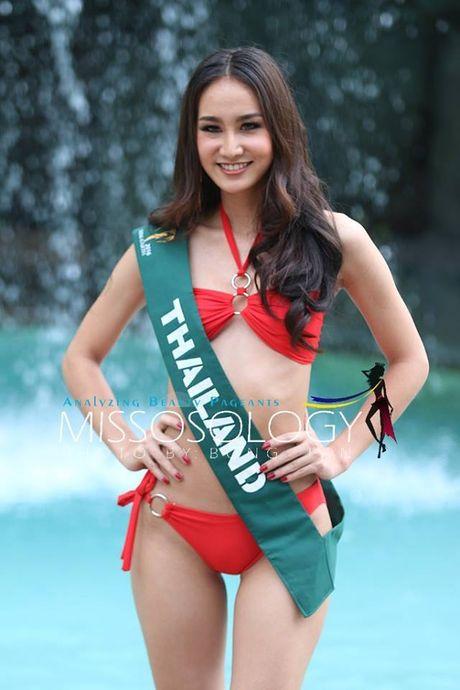 Choang truoc tao dang bikini cua thi sinh Hoa hau Trai dat 2016 - Anh 12
