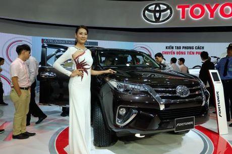 Toyota Viet Nam co doanh so ban hang tang 8% - Anh 1