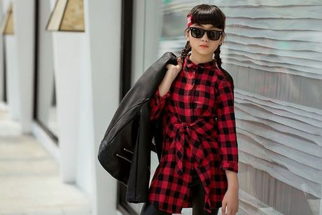 Kim Anh The Voice Kids khoe street style xinh xan tren pho - Anh 9