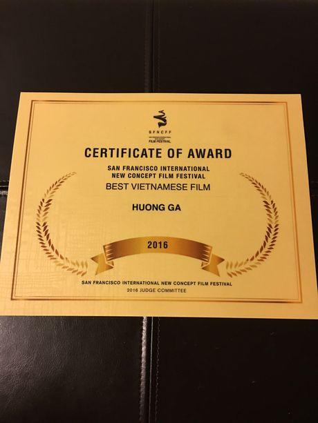 'Huong Ga' doat giai Phim Viet Nam hay nhat tai My - Anh 2