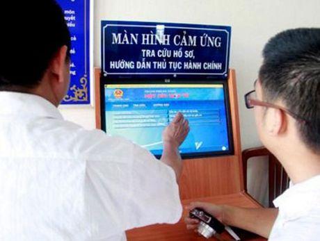 Kho dat chi tieu lot vao top 4 ASEAN ve Chinh phu dien tu - Anh 1