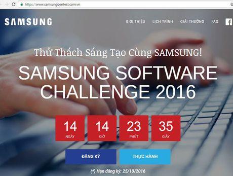 Samsung VN lan dau to chuc thi lap trinh cho sinh vien toan quoc - Anh 1
