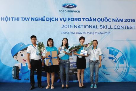 Ford VN to chuc Hoi thi tay nghe dich vu toan quoc - Anh 4