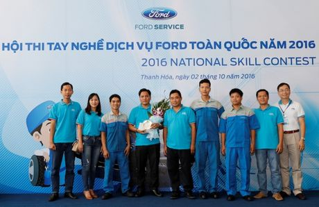 Ford VN to chuc Hoi thi tay nghe dich vu toan quoc - Anh 5