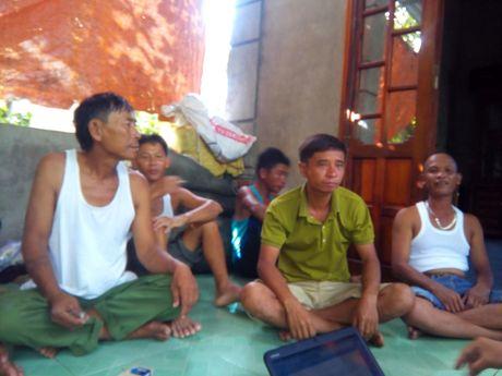 Vu chim tau o Quang Tri qua loi ke nguoi cuu ho - Anh 2