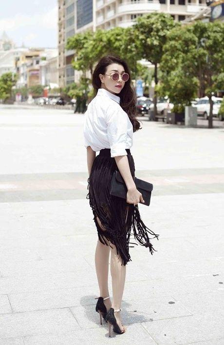 Phong cach mix do tua rua cuc chat cua Minh Hang, Jennifer Pham - Anh 12