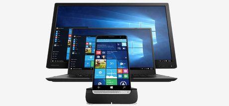 Smartphone HP Elite x3 chay Windows 10 Mobile chinh thuc len ke voi gia 17,7 trieu dong - Anh 1