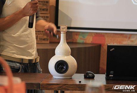 Chiem nguong cac mau loa handmade bang gom dep ngat ngay cua mot Startup Viet - Anh 9